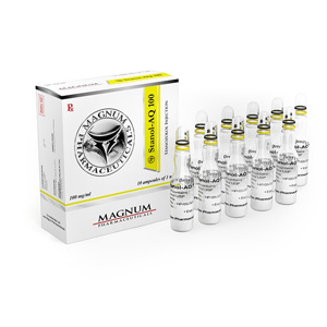 Magnum Stanol-AQ 100 zum Verkauf bei anabol-de.com in Deutschland | Stanozolol injection Online